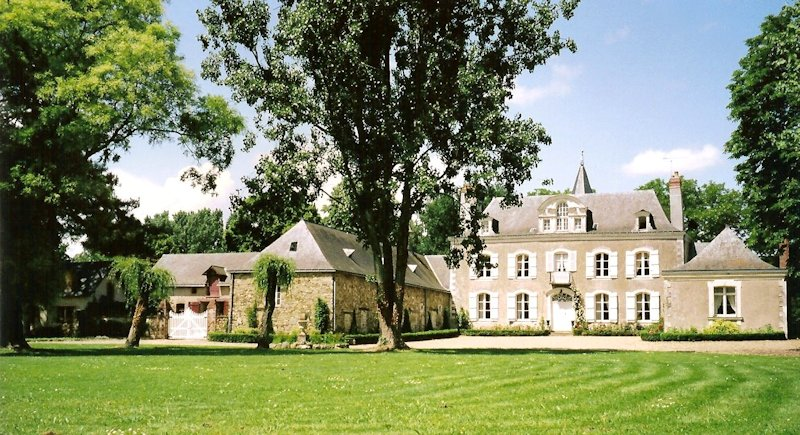 Ch teau de la montchevalleraie chambres d 39 h tes avir anjou - Chambre d hote chateau gontier ...