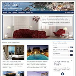 Les plus beaux hôtels d'Italie