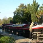 Mirage, peniche d'hotes sur le canal du Midi