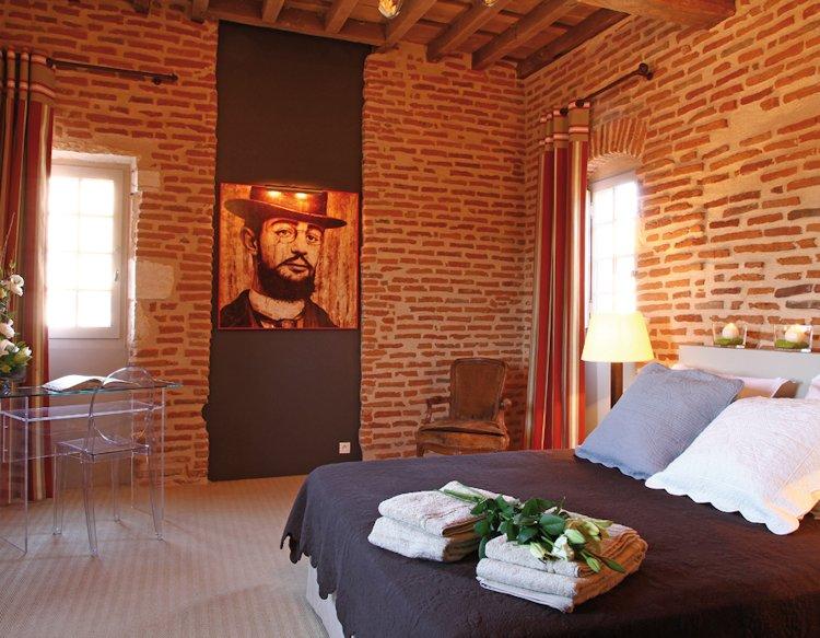 La Tour Sainte Cécile, Albi : chambre Toulouse Lautrec